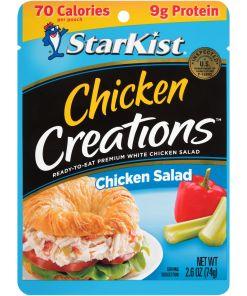 (3 Pouches) StarKist Chicken Creations Chicken Salad, 2.6 oz.