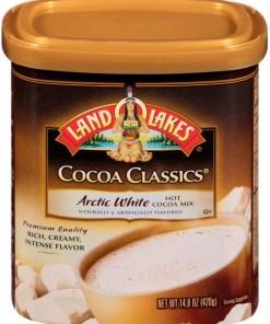 Land O'Lakes Cocoa Classics Artic White Hot Cocoa Mix, 14.8 OZ