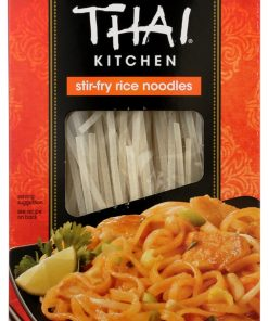 (12 Pack) Thai Kitchen Stir-Fry Rice Noodles, 14 OZ
