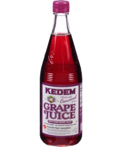 Kedem Concord Grape Juice, 22 fl oz, (Pack of 12)