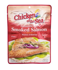 (2 Pack) Chicken of The Sea Wild Skinless Boneless Smoked Salmon, 3 oz Pouch