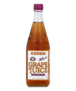 Kedem White Grape Pure 100% Juice, 22 Fo (Pack of 6)