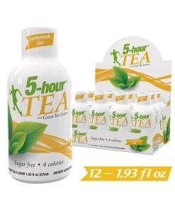 (12 Count) 5-hour? TEA Shots, Lemonade Tea Flavor, 1.93 oz