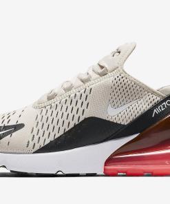 Mens Nike Air Max 270 Hot Punch Light Bone Black AH8050-003