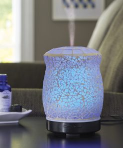 Better Homes & Gardens 100 mL Crackled Mosaic Essential Oil Diffuser