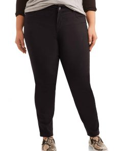 Just My Size Women's Plus Size 5 Pocket Stretch Jean, Also in Petite