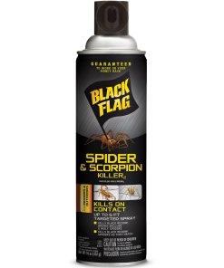 Black Flag Spider & Scorpion Killer, Aerosol, 16 oz
