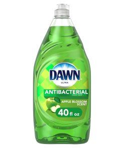 Dawn Ultra Liquid Dish Soap, Apple Blossom Scent, 40 Fl Oz