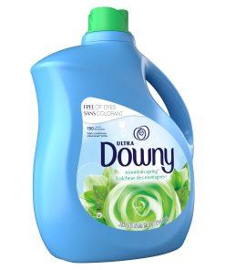 Downy Mountain Spring, 150 Loads Liquid Fabric Softener, 129 fl oz