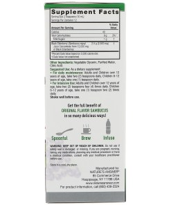 Sambucus, Black ElderBerry, 12,000 mg, 4 fl oz (120 ml)