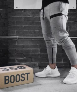 2020 new muscle brothers Mens fitness leisure cotton running feet sweat pants pants cross-border closing