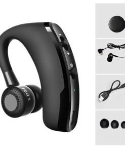 V9 Wireless Voice Control Music Sports Bluetooth Handsfree Earphone Bluetooth Headset Headphones Noise Cancelling Headset