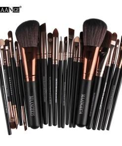 22Pcs Cosmetic Makeup Brushes Set Blush Powder Foundation Eyeshadow Eyeliner Lip Make up Brush Beauty Tools