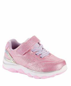 Athletic Works Twinkle Glitter Athletic Sneaker (Toddler Girls)