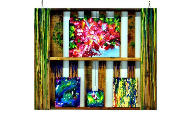 Patty Dimo - Pallet de Madera Exhibition Installation