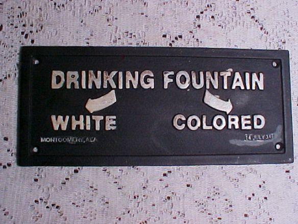 segregation drinking fountain