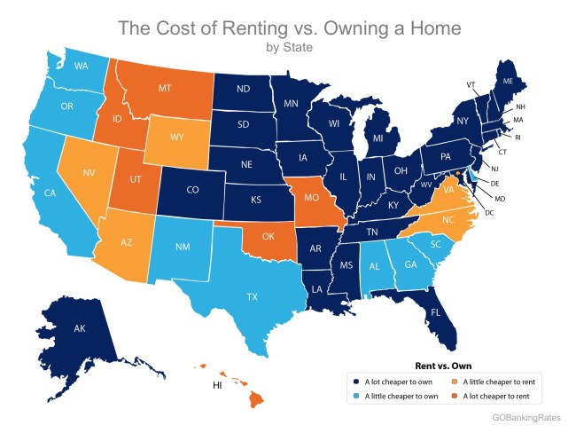 Buying Remains Cheaper Than Renting in 39 States!   Simplifying The Market