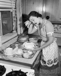 1950s-tired-exhausted-woman-housewife-sink-full-of-dirty-dishes-h2867