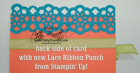 Lace ribbon border