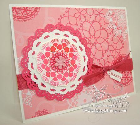 Doily card 2