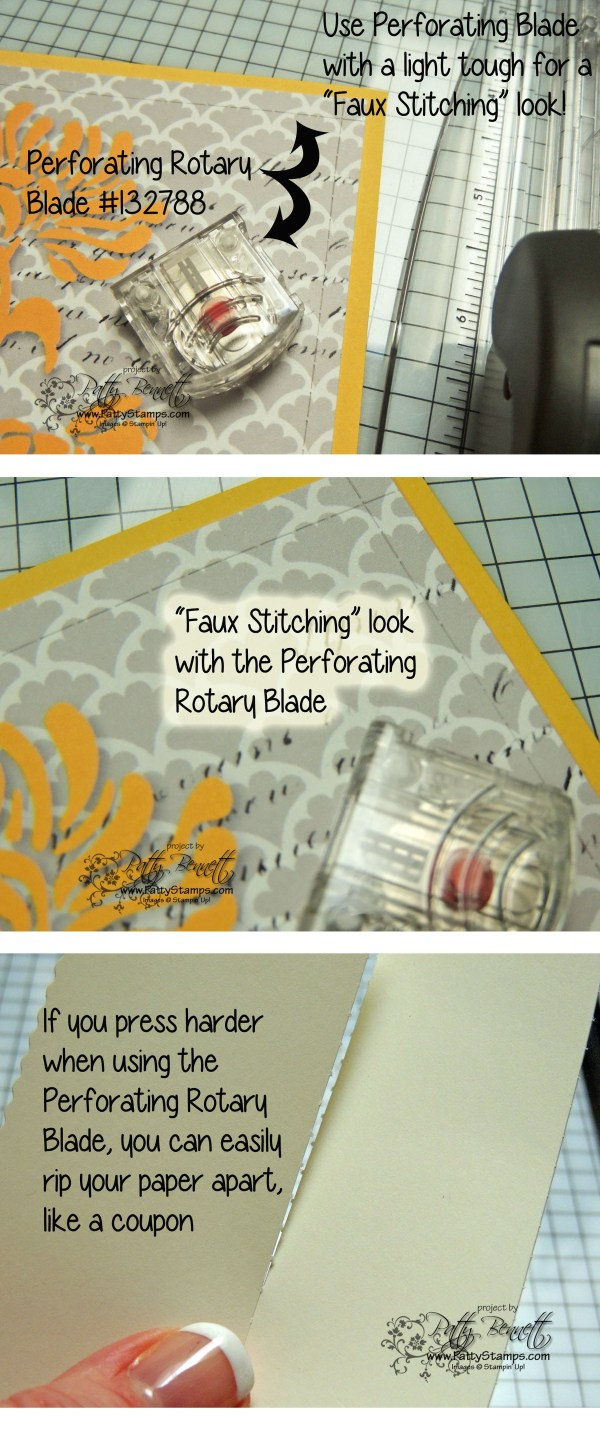 Rotary Trimmer Accessories - Patty Stamps