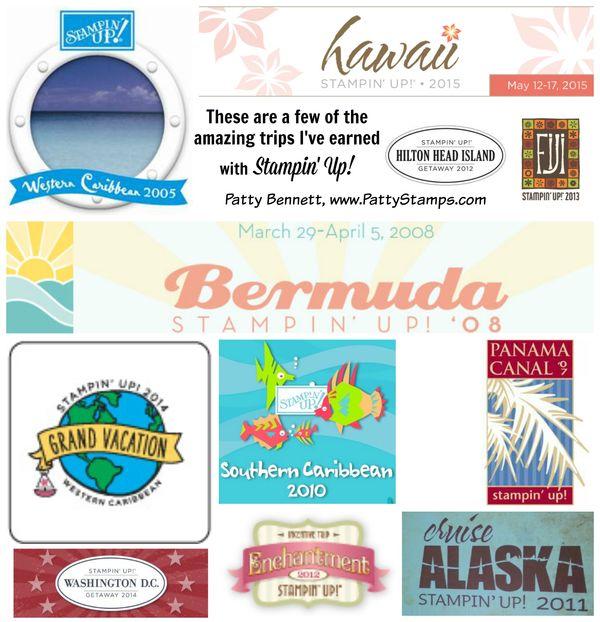 Pattybennett stampin up cruise collage