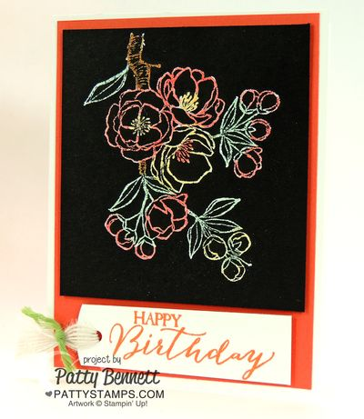 Indescribable-gift-blendabilities-cards-black-stampin-up-pattystamps-coral