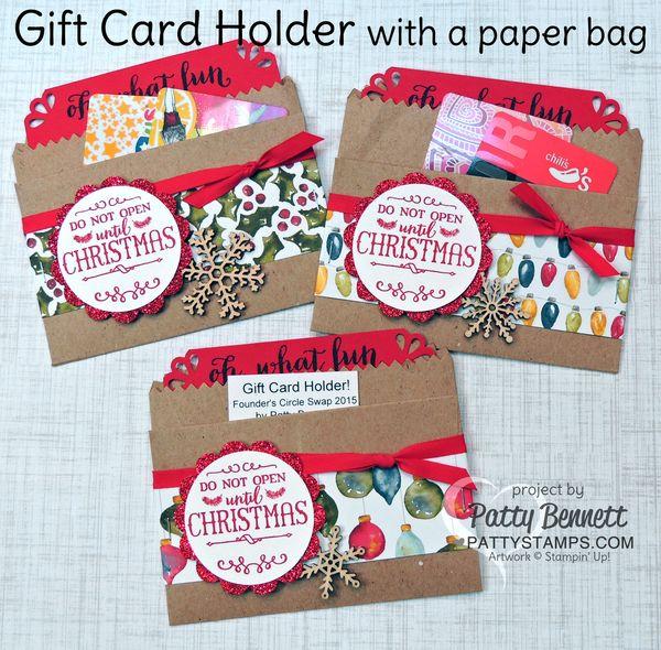 Gift-card-holder-oh-what-fun-stampin-up-kraft-bag-pattystamps