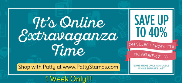 OnlineExtravaganza-2016-1-week-pattystamps-sale-stampin-up