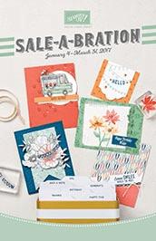 Stampin' Up! 2017 Sale a Bration brochure / catalog
