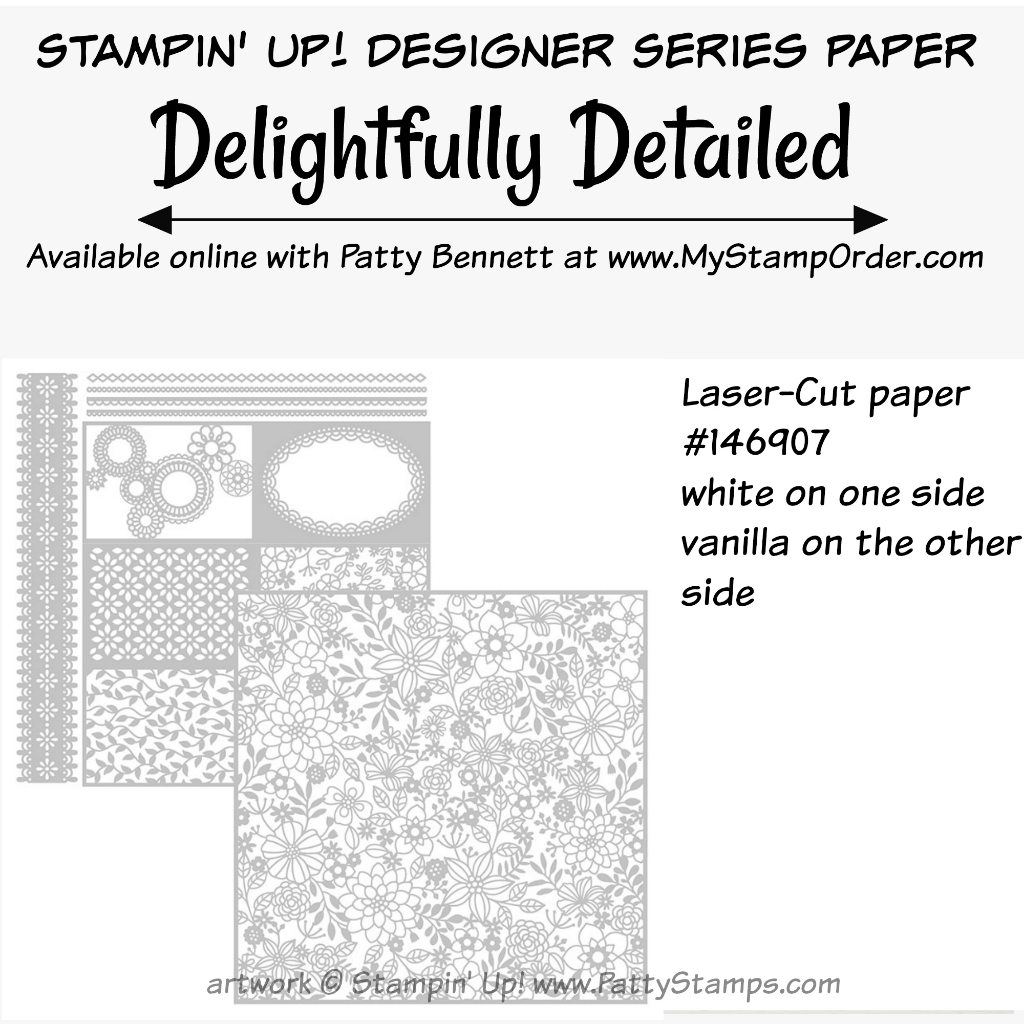 Easy way to use the Delightfully Detailed Laser-Cut paper