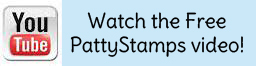 Watch the free pattystamps video on youtube stampin up