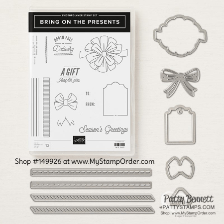 149926 Bring on the Presents bundle from Stampin' UP! available at www.MyStampOrder.com