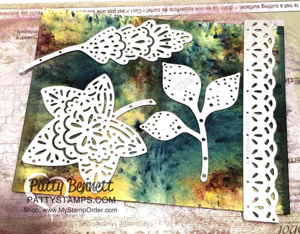 Falling for Leaves fall paper crafting idea featuring Brusho Crystal Colour, & watercolor paper by Patty Bennett.   Stampin' UP! paper crafting supplies available at www.MyStampOrder.com