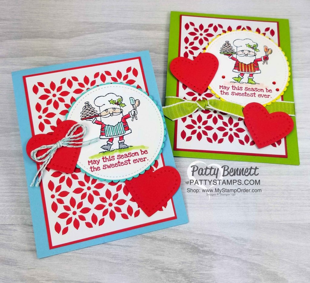 So Santa Christmas Card Ideas With Stampin Blends Patty Stamps