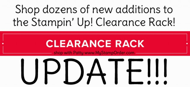 stampin up clearance rack update