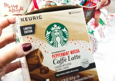 Starbucks Peppermint Mocha Latte Coffee Cup Gifts