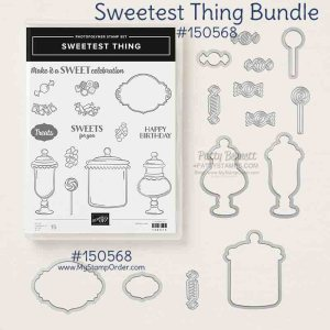 Stampin' UP! Sweetest Thing Bundle. Shop Online with Patty Bennett www.MyStampOrder.com #150568