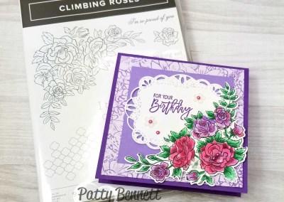 Climbing Roses Card Ideas