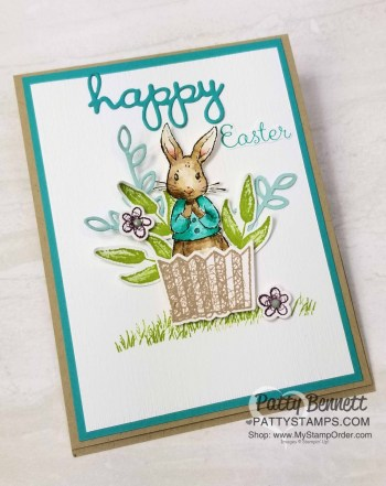 Happy Easter Stampin' Up! Card Idea