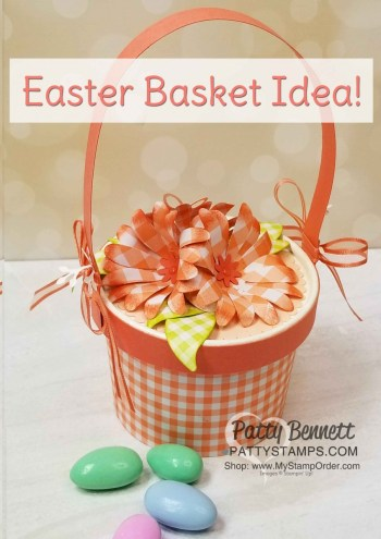 Daisy Punch Easter Basket Idea