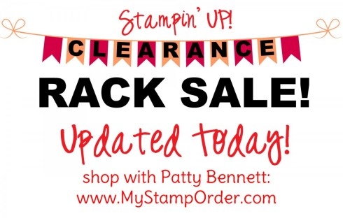 Stampin' UP! Clearance Rack Update, June 2019 - Stamp sets on clearance! www.MyStampOrder.com