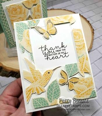 Press'n Seal Card with Mosaic Mood Designer Paper