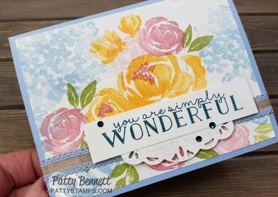 Beautiful Friendship Flower Card Set