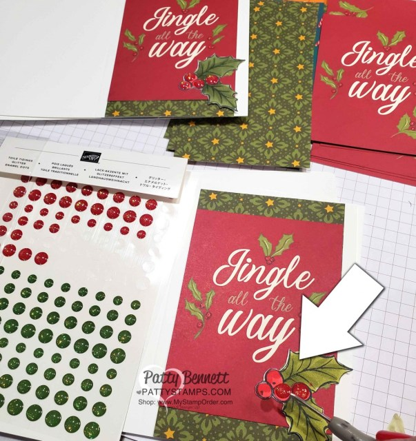 Night Before Christmas Memories & More card pack from Stampin' Up! - easy way to create Christmas Cards or papercrafting home decor DIY projects. www.PattyStamps.com