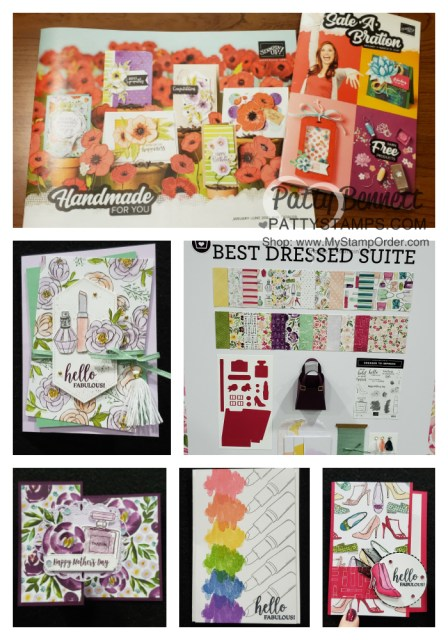 Stampin Up OnStage event, Portland OR Nov 2019. Best Dressed Suite project and card ideas. www.PattyStamps.com