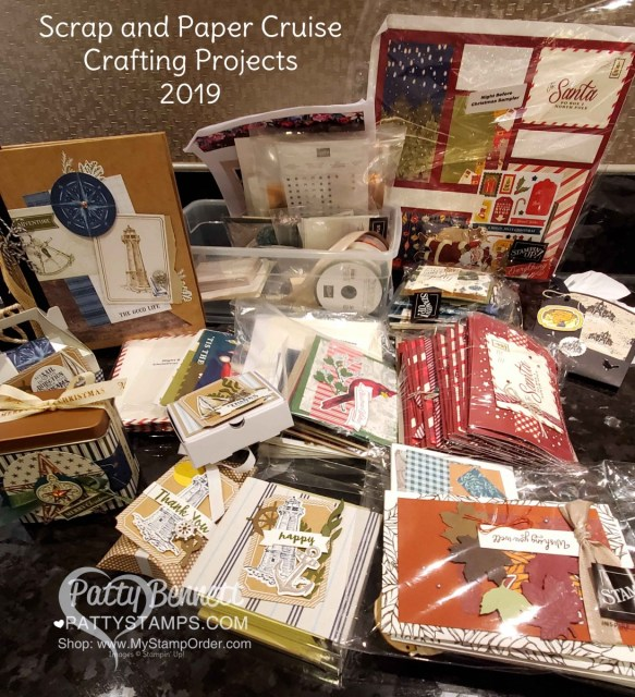 Scrap and Paper Cruise 2019 Symphony of the Seas ship. Stamping and crafting cruise!! www.PattyStamps.com