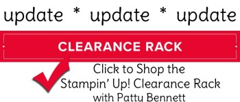 Save on the Clearance Rack Update