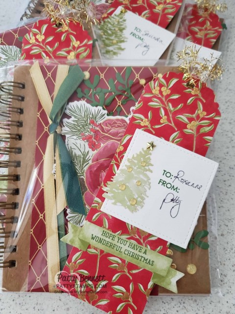 Most Wonderful Time Christmas Gift Tags featuring Stampin' Up! product medley #150705 www.MyStampOrder.com