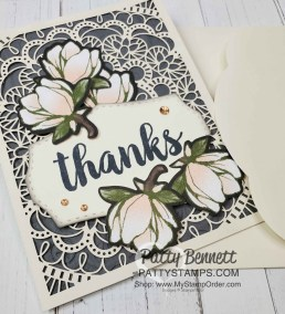 Stampin Up Laser-cut card ideas